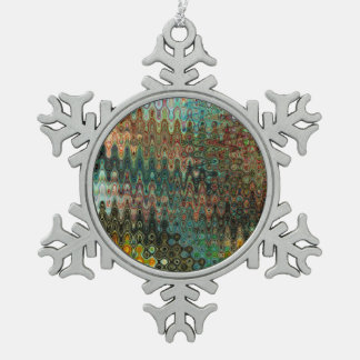 Eden Pewter Snowflake Ornament by Artist CL Brown