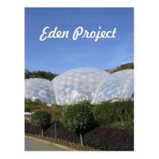 Eden Project Postcard