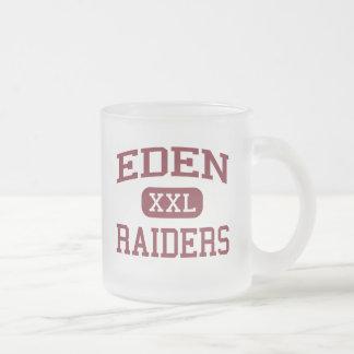 Eden - Raiders - Eden High School - Eden New York 10 Oz Frosted Glass Coffee Mug