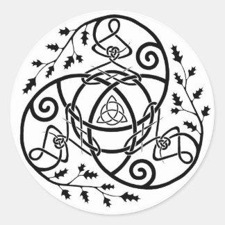 Eden Round Sticker
