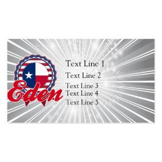 Eden, TX Business Card
