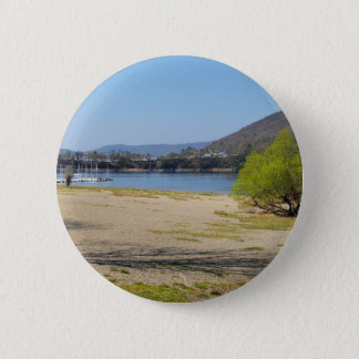 Edersee at the deer brook 2 inch round button