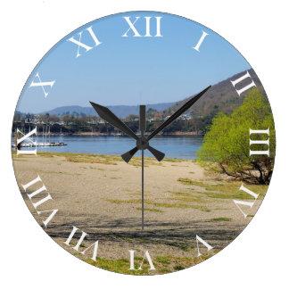 Edersee at the deer brook large clock