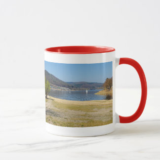 Edersee at the deer brook mug