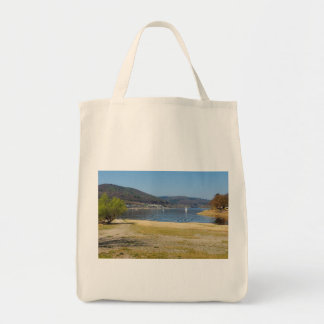 Edersee at the deer brook tote bag