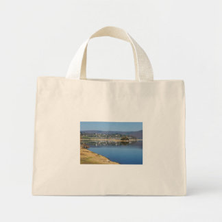 Edersee bay when bringing living mini tote bag
