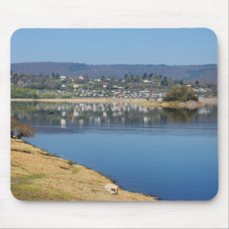 Edersee bay when bringing living mouse pad