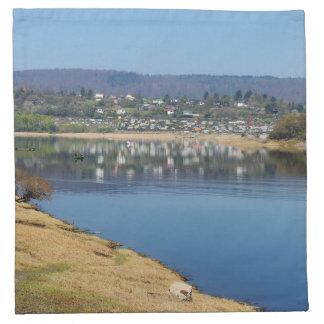 Edersee bay when bringing living napkin