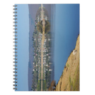 Edersee bay when bringing living notebook
