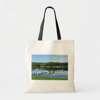 Edersee bay with separate tote bag