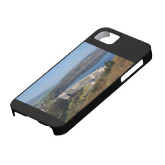 Edersee concrete dam in the spring iPhone 5 cover