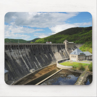 Edersee concrete dam with closed forest-hits a mouse pad