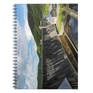 Edersee concrete dam with closed forest-hits a notebook