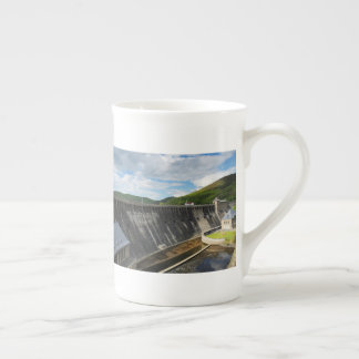 Edersee concrete dam with closed forest-hits a tea cup