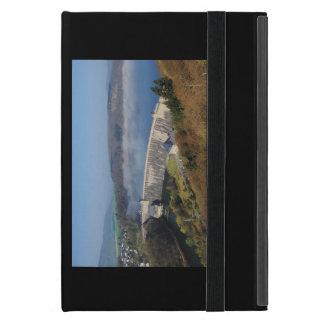 Edersee concrete dam with fog iPad mini case