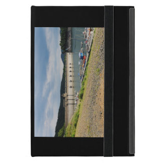Edersee concrete dam with low water iPad mini cover
