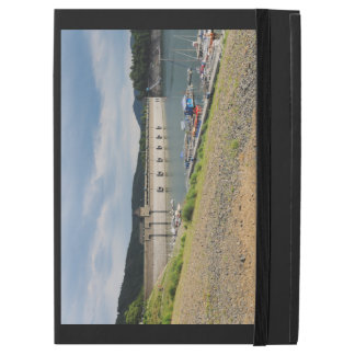 """Edersee concrete dam with low water iPad pro 12.9"""" case"""