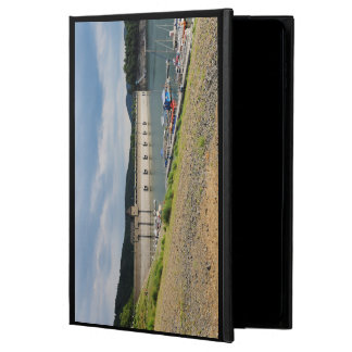 Edersee concrete dam with low water powis iPad air 2 case