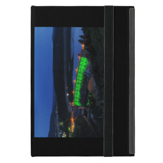 Edersee lit up concrete dam in the evening cover for iPad mini