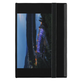 Edersee lit up concrete dam in the evening iPad mini case