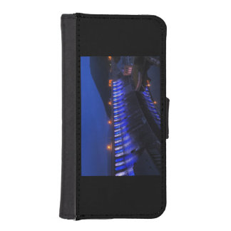 Edersee lit up concrete dam in the evening iPhone SE/5/5s wallet case
