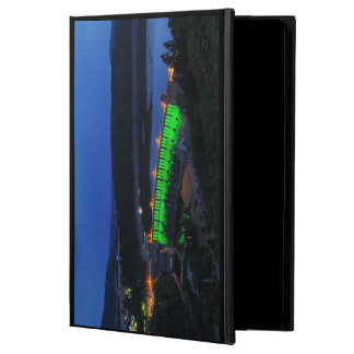 Edersee lit up concrete dam in the evening powis iPad air 2 case