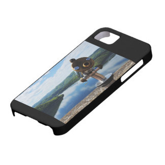 Edersee prospect of closed forest-hits a corner case for the iPhone 5