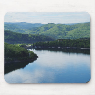 Edersee prospect of closed forest-hits a corner mouse pad