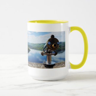 Edersee prospect of closed forest-hits a corner mug