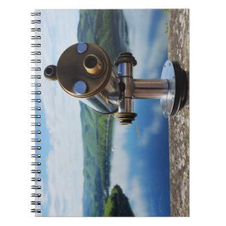 Edersee prospect of closed forest-hits a corner notebook