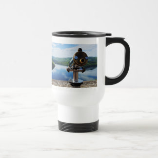 Edersee prospect of closed forest-hits a corner travel mug