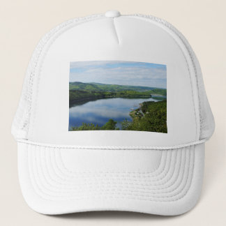 Edersee prospect of closed forest-hits a corner trucker hat