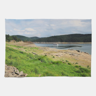 Edersee village place of Berich Kitchen Towel