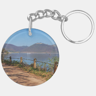 Edersee with lock forest-hit a corner keychain