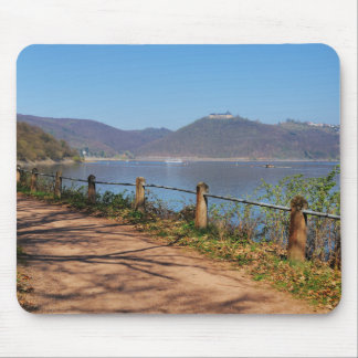 Edersee with lock forest-hit a corner mouse pad