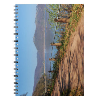 Edersee with lock forest-hit a corner notebook