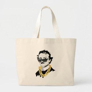edgar allan bro large tote bag