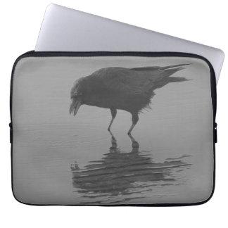 Edgar Allan Crow Laptop Sleeve