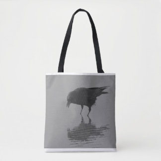 Edgar Allan Crow Tote Bag