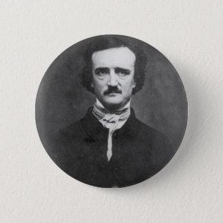 Edgar Allan Poe-1848 2 Inch Round Button