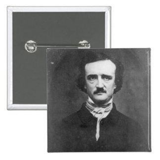 Edgar Allan Poe-1848 2 Inch Square Button