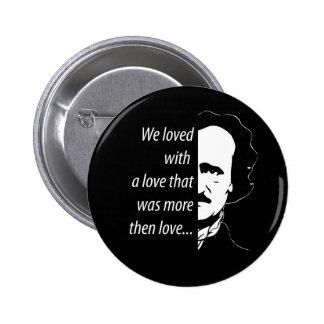 Edgar Allan Poe 2 Inch Round Button