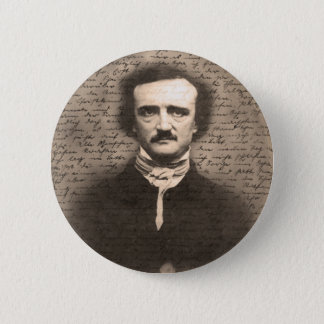 Edgar Allan Poe 2 Inch Round Button