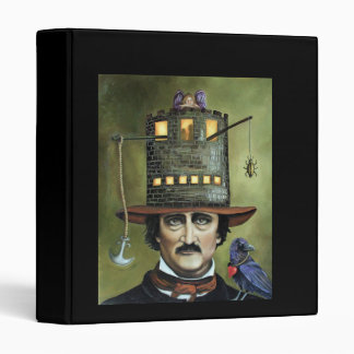 Edgar Allan Poe 3 Ring Binders