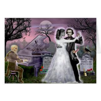 Edgar Allan Poe and Annabel Lee Eternally Card