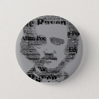 Edgar Allan Poe Bottom 2 Inch Round Button