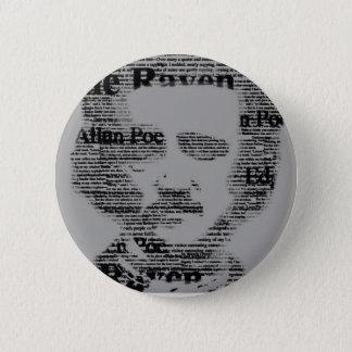 Edgar Allan Poe Bottom 2 Inch Round Button