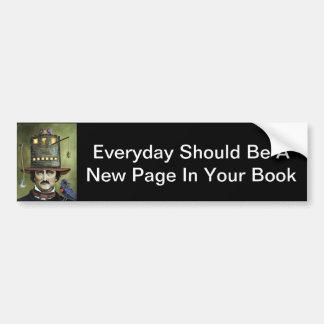 Edgar Allan Poe Bumper Sticker
