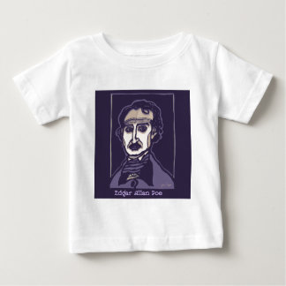 Edgar Allan Poe by FacePrints Baby T-Shirt