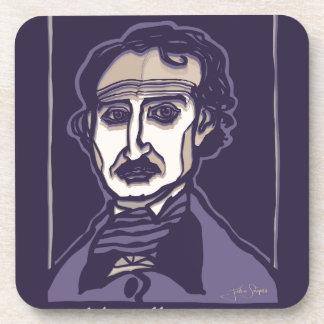 Edgar Allan Poe by FacePrints Coaster